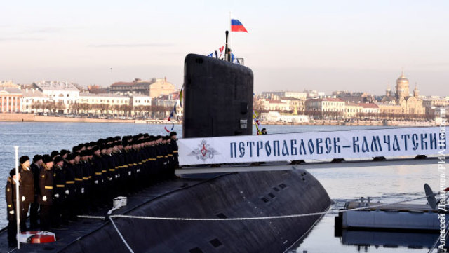 """Подводная лодка """"Петропавловск-Камчатский"""" - необходимое, но недостаточное усиление Тихоокеанского флота"""