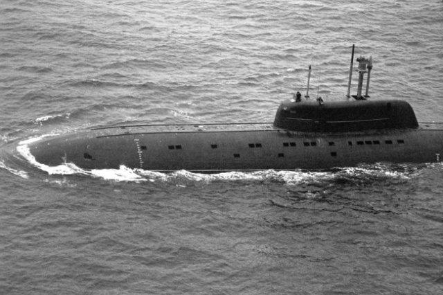 """Подводная лодка проекта 945 """"Барракуда""""."""