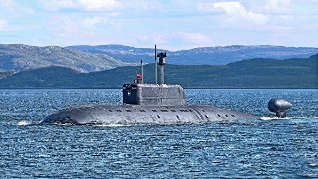 """Подводная лодка проекта 945 """"Барракуда"""""""