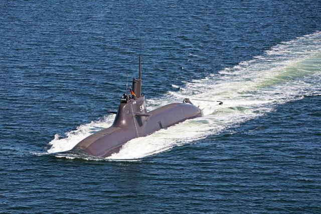 Подводная лодка U-34 проекта 212А