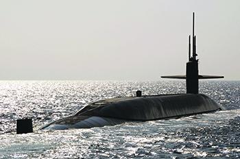 Подводная лодка USS Maryland. Фото с сайта www.navy.mil