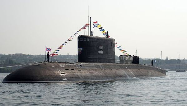 Подводная лодка Б-261 Новороссийск. Архивное фото