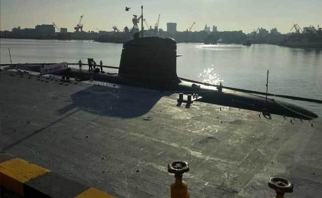 Подводная лодка Kalvari.