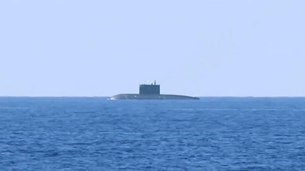 "Подводная лодка ""Краснодар"" ВМФ РФ"