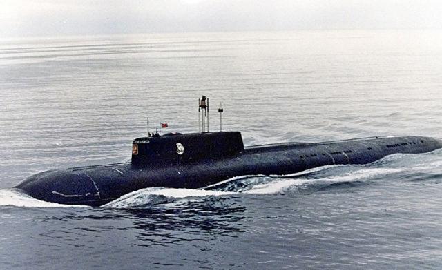 """Подводная лодка """"Курск"""" в Североморске, 1999 год"""