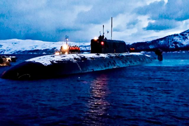 """Подводная лодка """"Нижний Новгород"""""""
