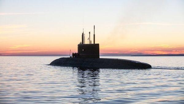 Подводная лодка проекта Колпино. Архивное фото