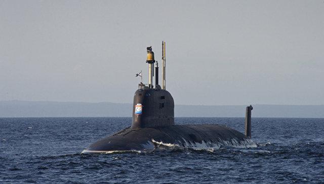 Подводная лодка проекта Ясень-М. Архивное фото.