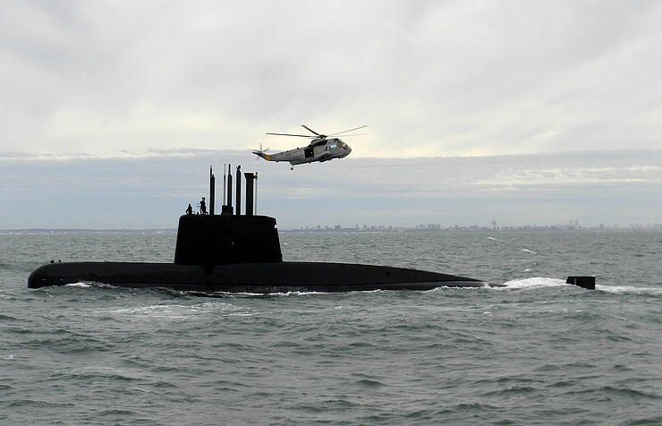 Подводная лодка San Juan ВМС Аргентины.