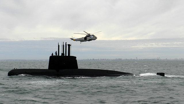 Подводная лодка Сан-Хуан ВМС Аргентины. Архивное фото.