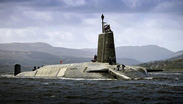 Подводная лодка Vigilant ВМС Великобритании. Архивное фото.