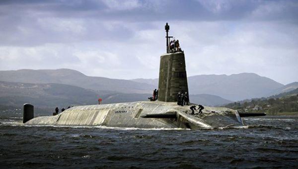 Подводная лодка Vigilant ВМС Великобритании. Архивное фото
