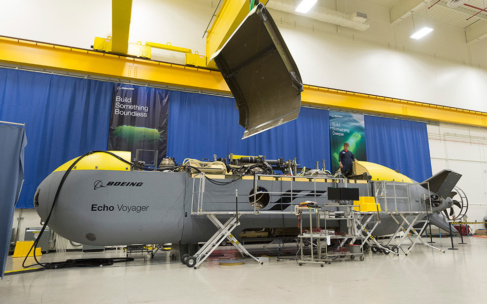 Подводный беспилотник Echo Voyager.
