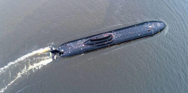 Подводный крейсер стратегического назначения проекта 941
