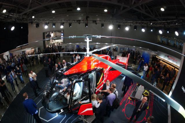 Пока вертолет VRT-500 существует в виде макетов, но создатели уверены - у него большое будущее.