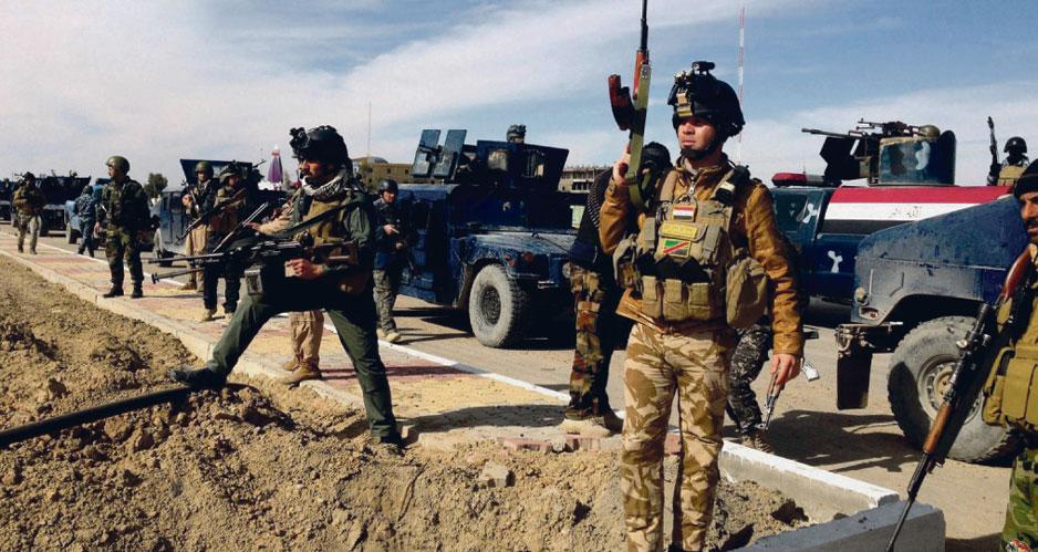 Военнослужащие ВС Ирака.