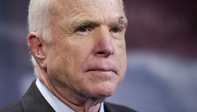 Политик-республиканец, сенатор США Джон Маккейн. Архивное фото.