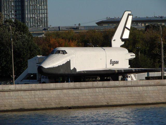 Полноразмерный испытательный макет орбитального корабля «Буран»