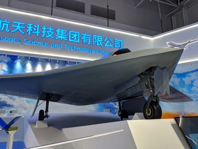 Полноразмерный макет БЛА XY-280