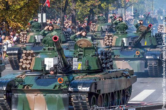 Польша озвучила масштабные планы по перевооружению армии