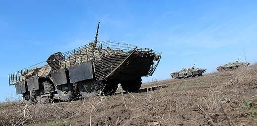 Бронеавтомобиль БТР-80 ВС Украины.