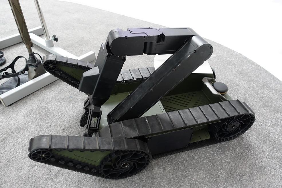 Портативное роботизированное наземное средство PUGV (Portable Unmanned Ground Vehicle) южнокорейской компании LIG Nex1.