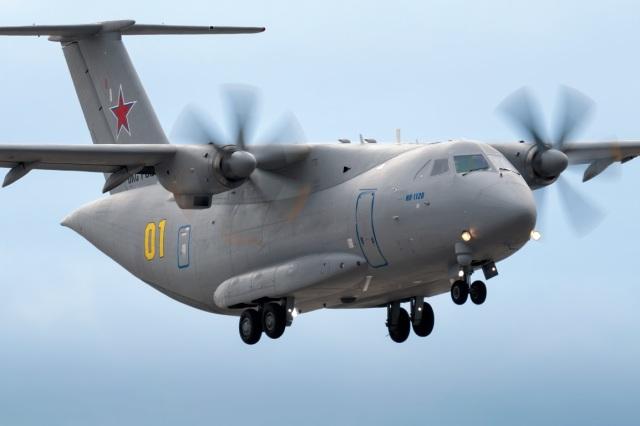 Посадка самолета Ил-112В