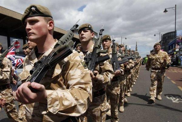 Военнослужащие ВС Британии