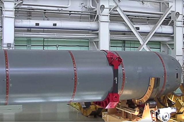 """""""Посейдон"""" может работать автономно неограниченно долго и развивать скорость около 200 км/час - недостижимую для торпед."""