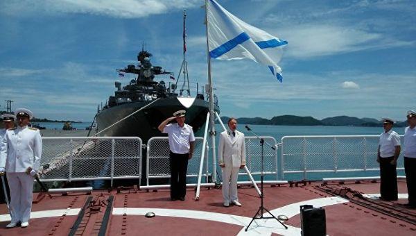 Посол РФ в Таиланде Кирилл Барский обращается к морякам-тихоокеанцам