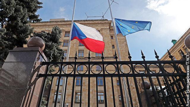Посольство Чехии в России тоже принимает участие в разжигании конфликта двух стран