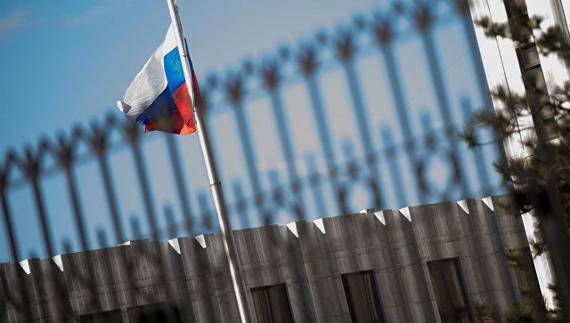 Посольство России в Вашингтоне. Архивное фото.