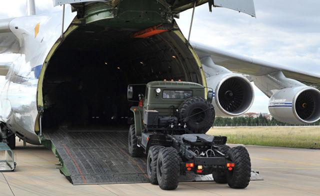 Поставки компонентов С-400 в Турцию