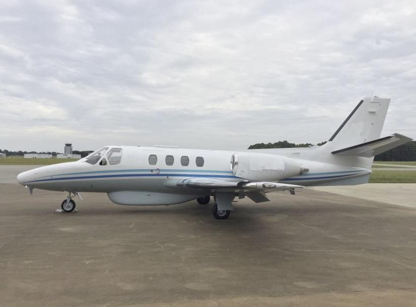 Поставленный, предположительно, Анголе, базовый патрульный самолет Cessna Citation I, переоборудованный израильской компанией BIRD Aerosystems.