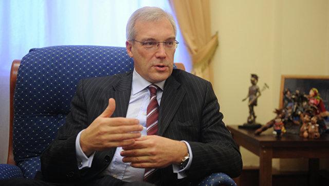 Постоянный представитель Российской Федерации при НАТО Александр Грушко. Архивное фото.