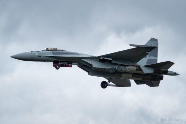 Построенный для ВВС Египта истребитель Су-35