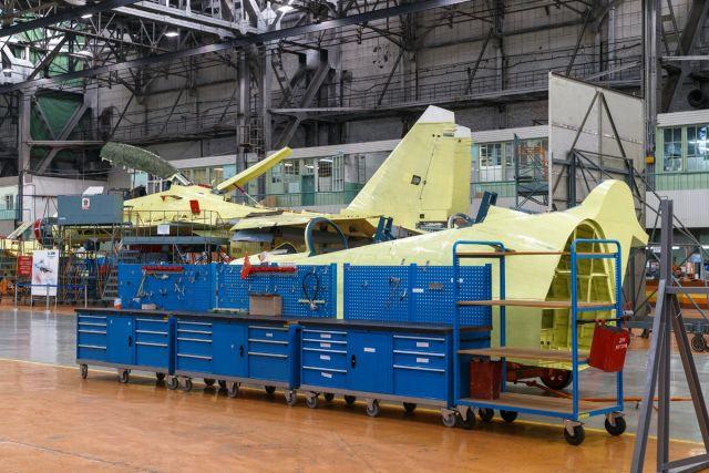 Постройка истребителей Су-30СМ