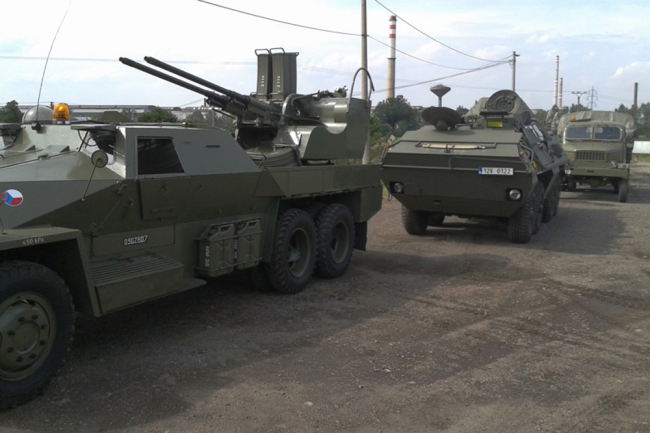 "Praga PLDvK vz. 53/59 Jesterka (""Ящерица"") ВС Ирака."
