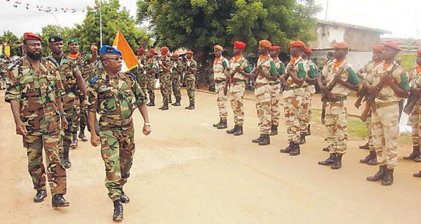 Правительственные силы Кот-д'Ивуара