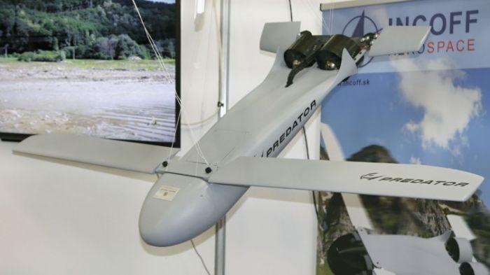 Словацкий барражирующий боеприпас Predator AX-1.