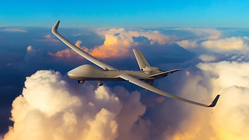 Проектное изображение беспилотного летательного аппарата большой дальности General Atomics Certified Predator B.