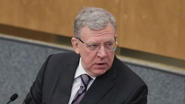 Председатель Счетной палаты РФ Алексей Кудрин на пленарном заседании Государственной Думы РФ
