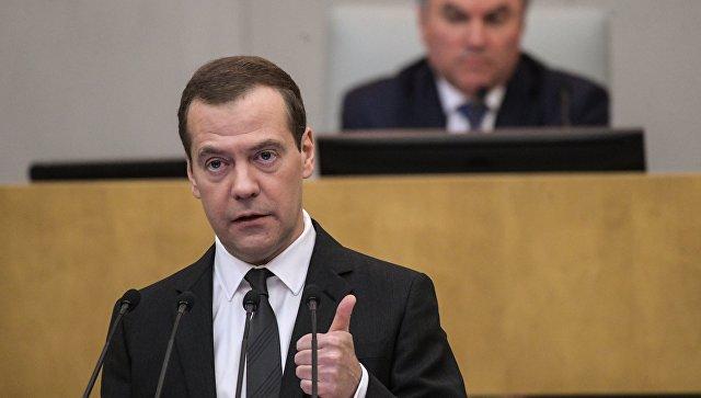 Председатель правительства РФ Дмитрий Медведев. Архивное фото.