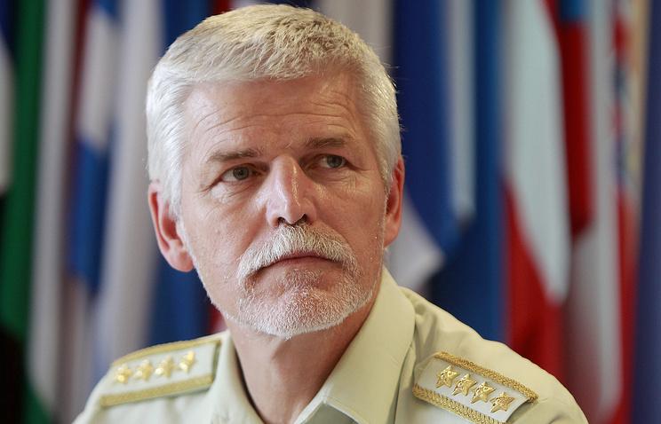 Председатель Военного комитета НАТО чешский генерал Петр Павел.
