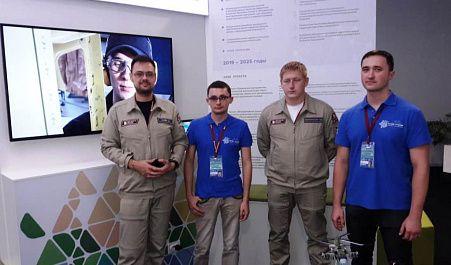 Представители инжинирингового центра на ВЭФ-2019