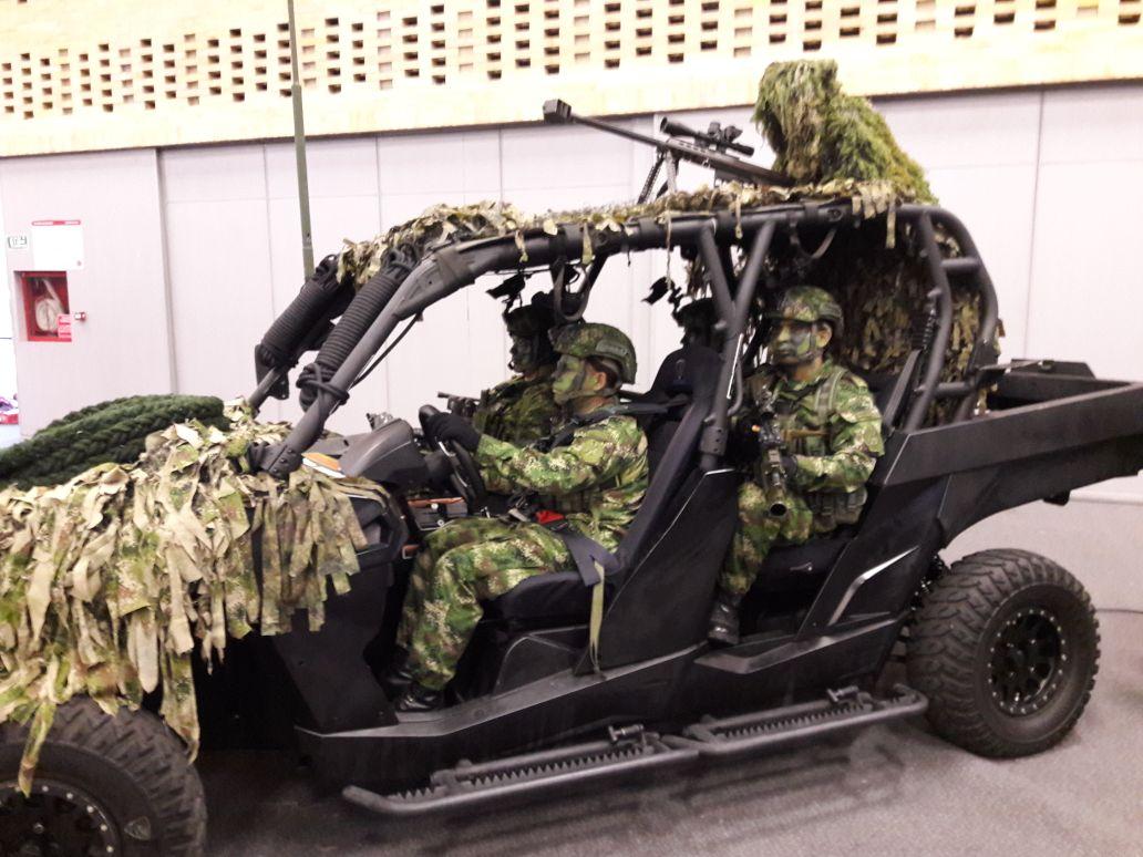 Представители колумбийских сил специальных операций (самых продвинутых в регионе) проявили заинтересованность в российской продукции военного назначения (c) bmpd.