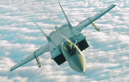 Преемник МиГ-31 сможет работать и против воздушных, и космических целей. Фото с сайта www.mil.ru