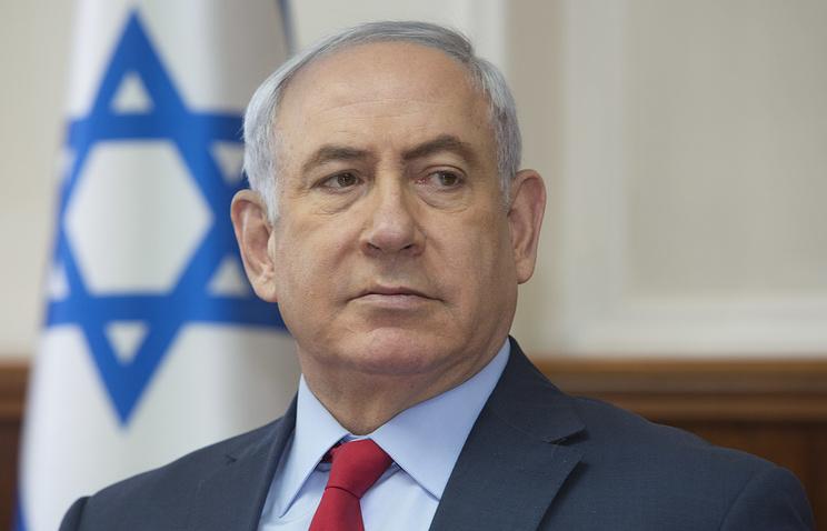 Премьер-министр Израиля Биньямин Нетаньяху.