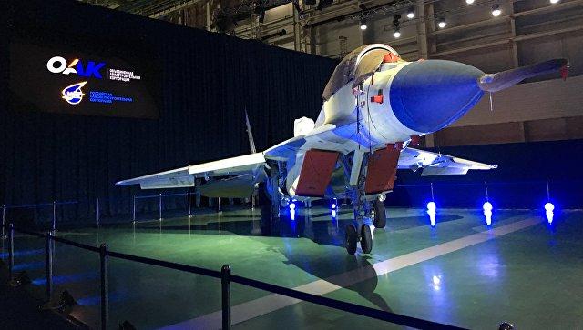 Презентация истребителя МиГ-35.