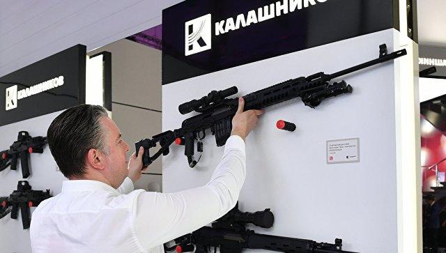 Презентация новых разработок концерна Калашников в рамках международного военно-технического форума Армия-2017. Архивное фото.